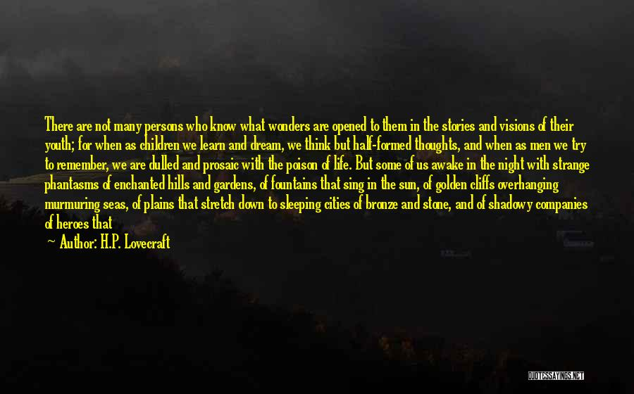 What Heroes Are Not Quotes By H.P. Lovecraft