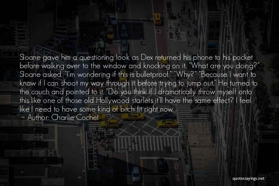 What I Feel Right Now Quotes By Charlie Cochet