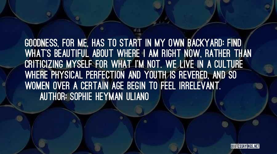What I Feel Right Now Quotes By Sophie Heyman Uliano