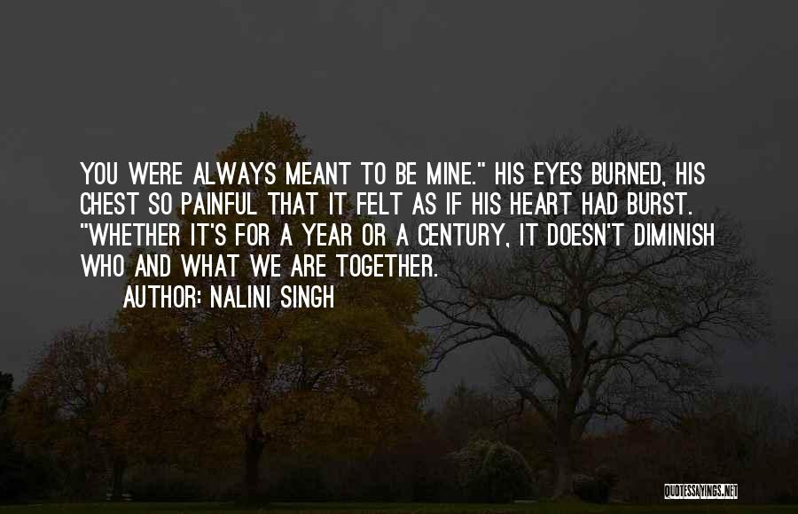 What If You Were Mine Quotes By Nalini Singh