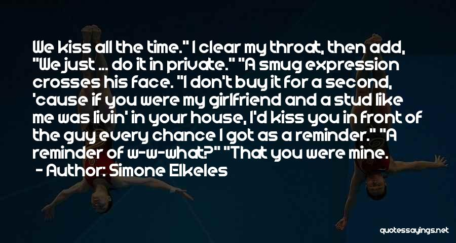 What If You Were Mine Quotes By Simone Elkeles