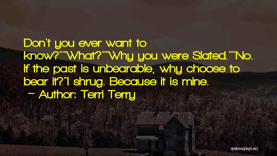 What If You Were Mine Quotes By Terri Terry