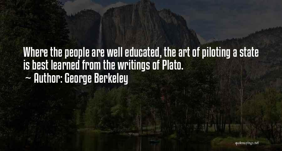 What Is Art Plato Quotes By George Berkeley