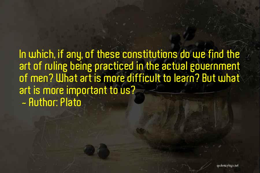 What Is Art Plato Quotes By Plato