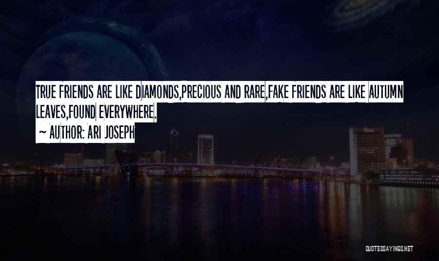 What Is Fake Friendship Quotes By Ari Joseph