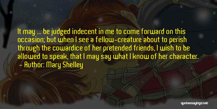 What Is Fake Friendship Quotes By Mary Shelley