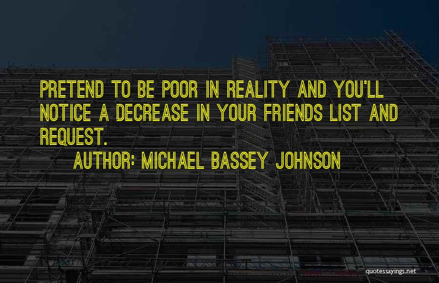 What Is Fake Friendship Quotes By Michael Bassey Johnson