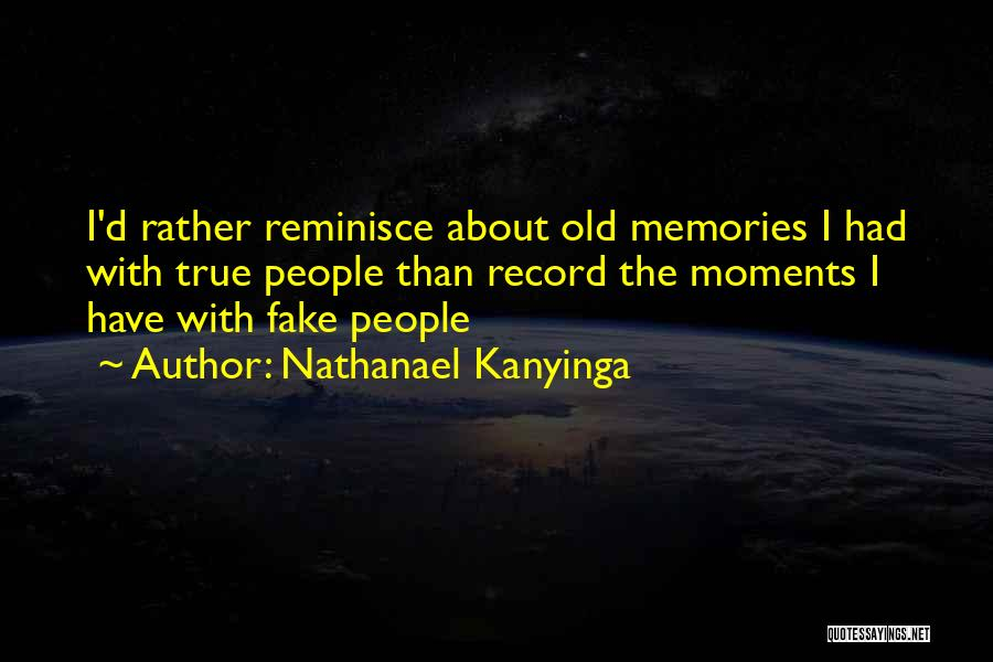 What Is Fake Friendship Quotes By Nathanael Kanyinga