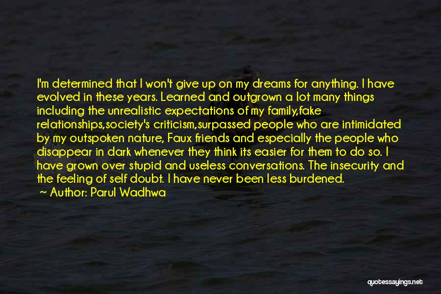 What Is Fake Friendship Quotes By Parul Wadhwa