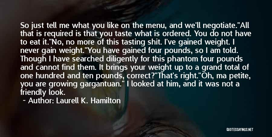 What Is Growing Up Quotes By Laurell K. Hamilton