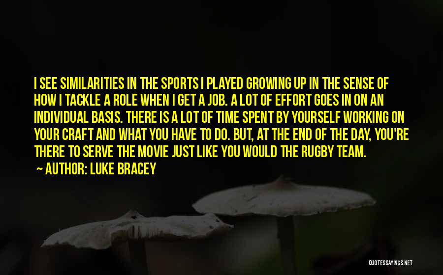 What Is Growing Up Quotes By Luke Bracey