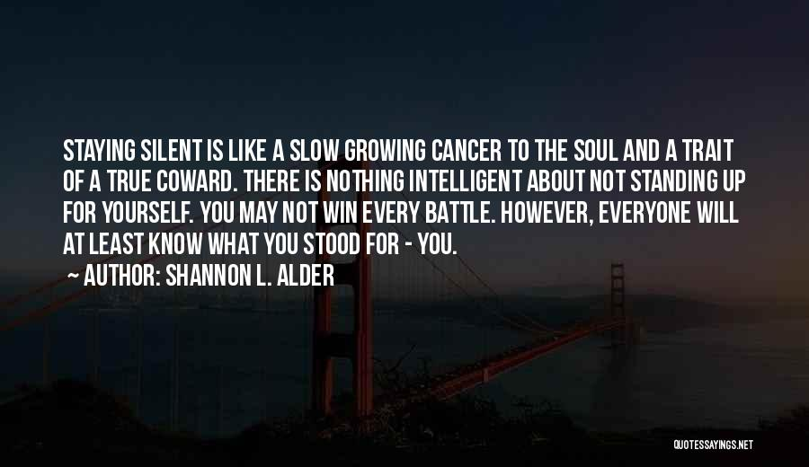 What Is Growing Up Quotes By Shannon L. Alder