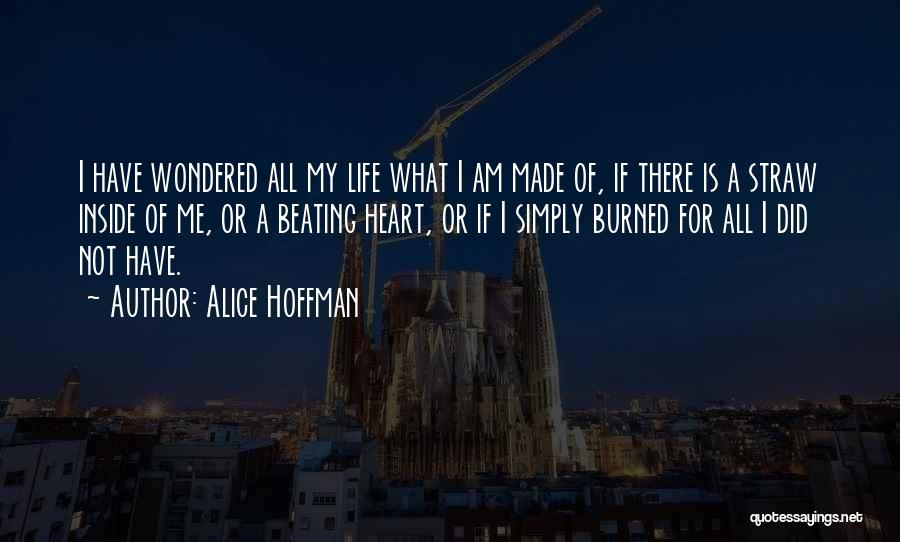 What Is My Life Quotes By Alice Hoffman