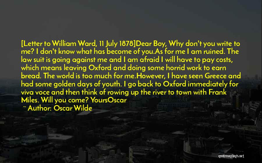 What Is Yours Will Come To You Quotes By Oscar Wilde