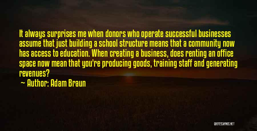 What It Means To Be Successful Quotes By Adam Braun