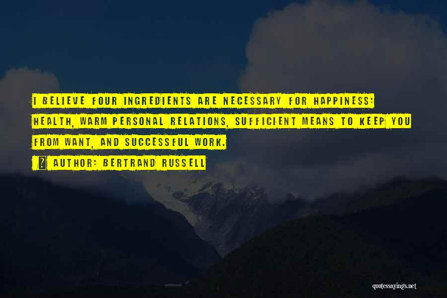 What It Means To Be Successful Quotes By Bertrand Russell