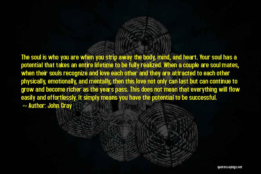 What It Means To Be Successful Quotes By John Gray