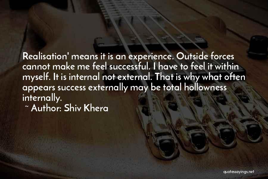 What It Means To Be Successful Quotes By Shiv Khera