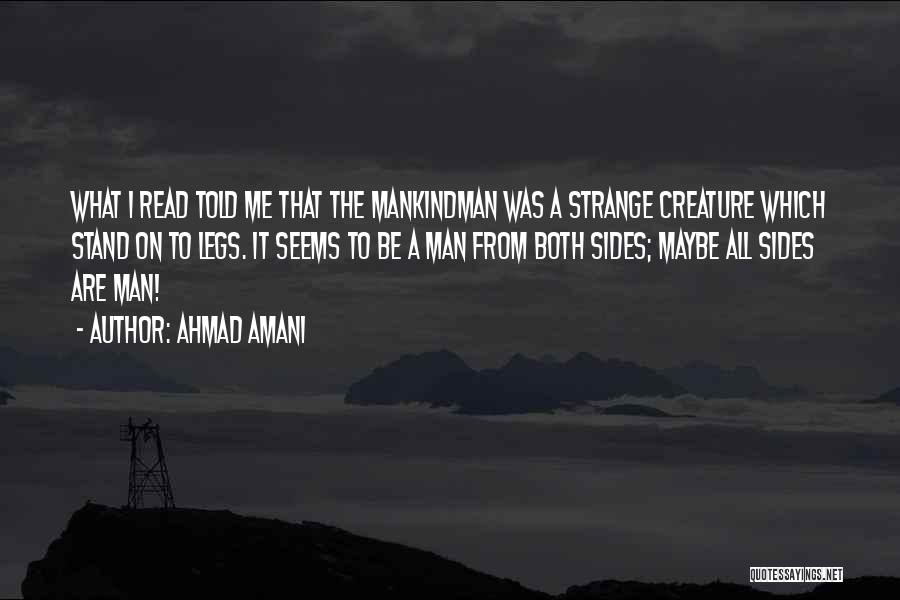 What It Seems Quotes By Ahmad Amani