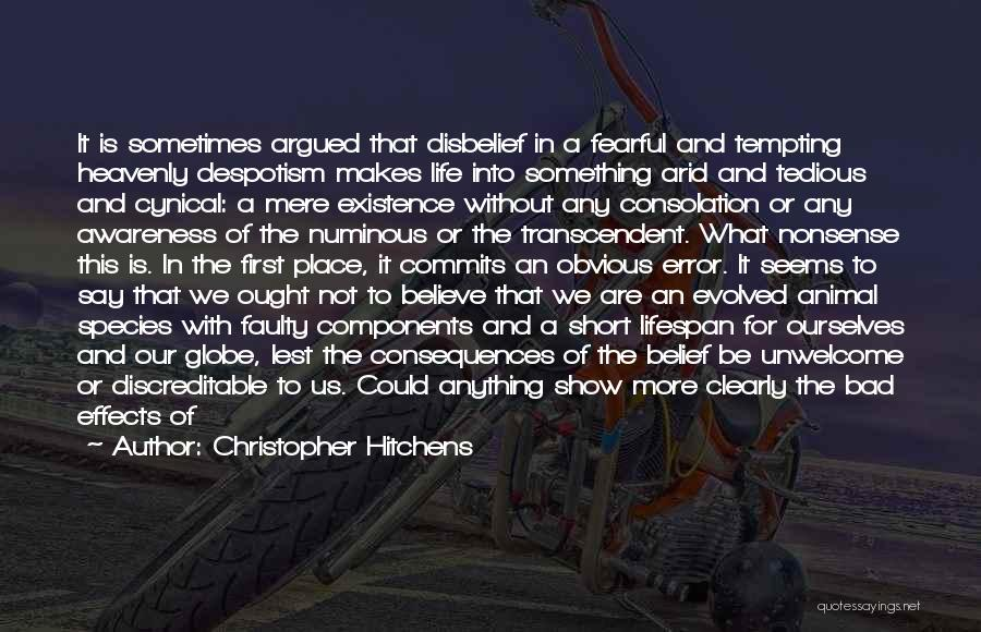 What It Seems Quotes By Christopher Hitchens