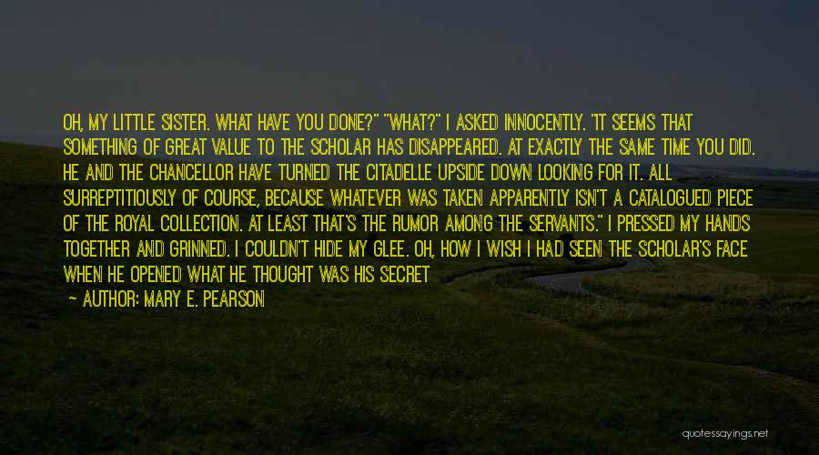 What It Seems Quotes By Mary E. Pearson