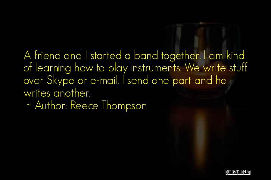 What Kind Of A Friend Are You Quotes By Reece Thompson