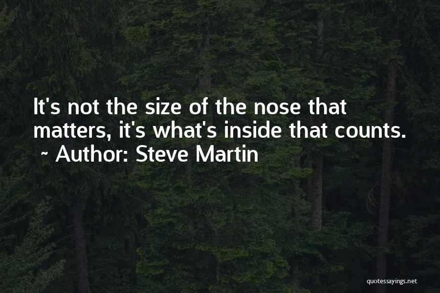 What Matters On The Inside Quotes By Steve Martin