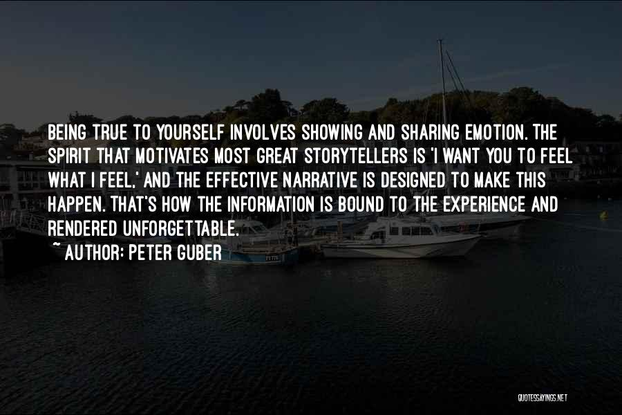 What Motivates You Quotes By Peter Guber