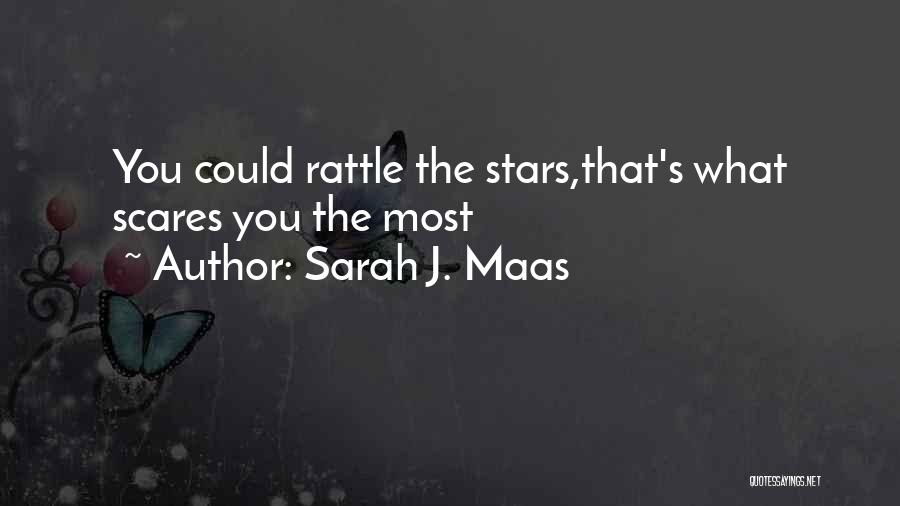 What Scares You Quotes By Sarah J. Maas