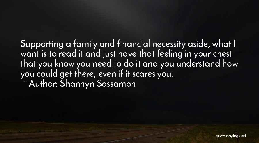 What Scares You Quotes By Shannyn Sossamon
