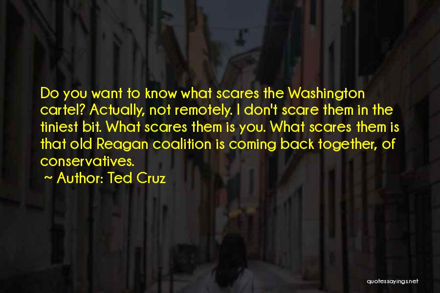 What Scares You Quotes By Ted Cruz