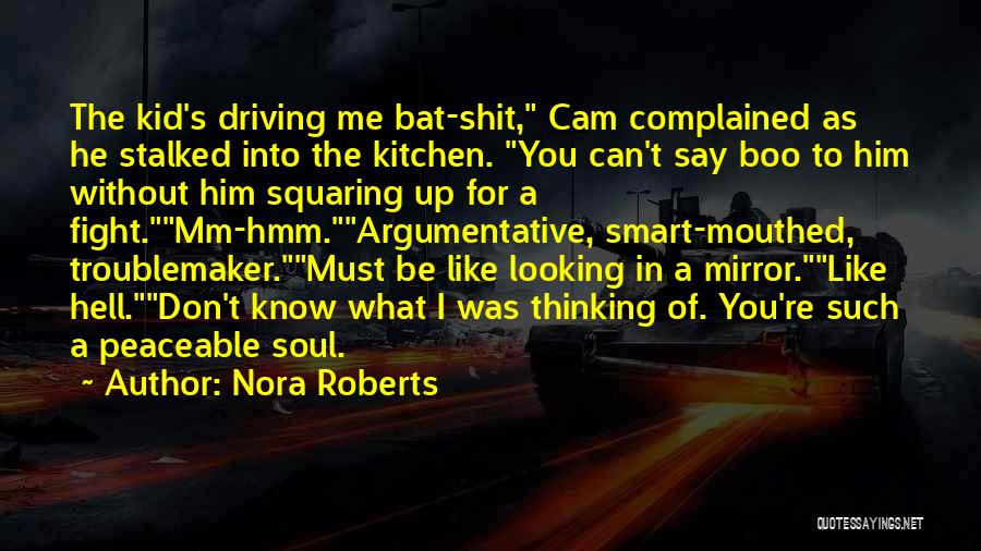 What The Hell Was I Thinking Quotes By Nora Roberts
