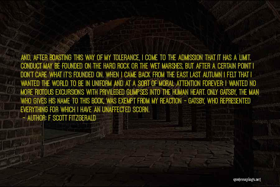 What The World Has Come To Quotes By F Scott Fitzgerald