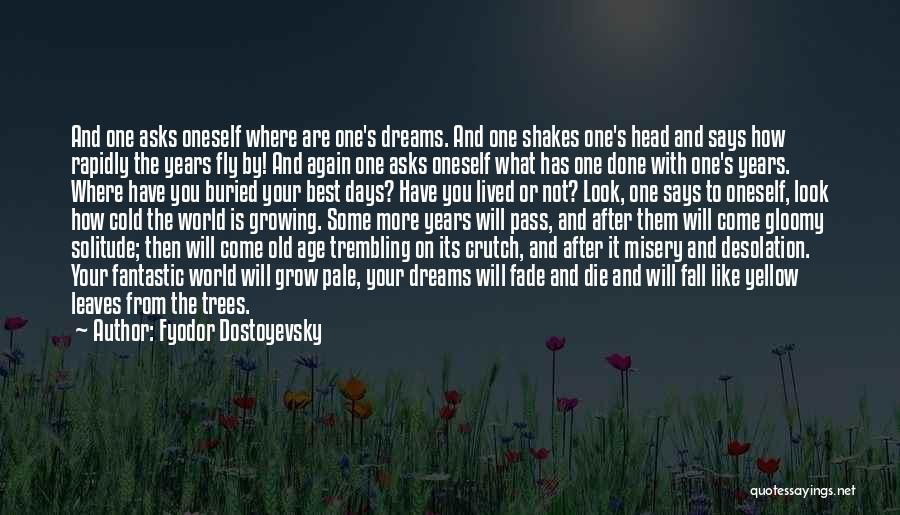 What The World Has Come To Quotes By Fyodor Dostoyevsky