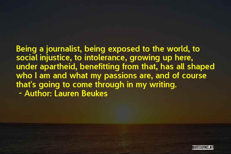 What The World Has Come To Quotes By Lauren Beukes