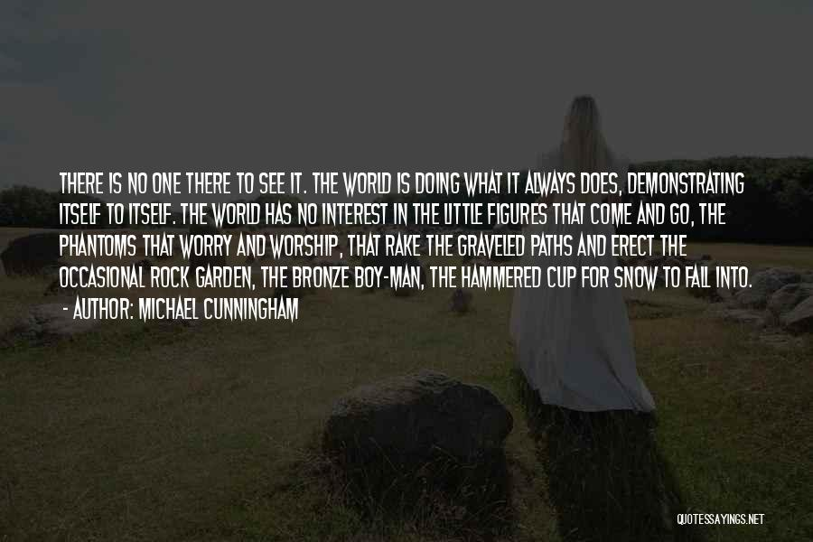 What The World Has Come To Quotes By Michael Cunningham