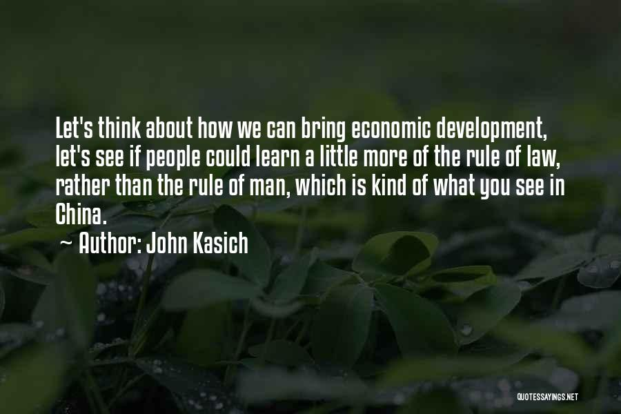 What We See Quotes By John Kasich