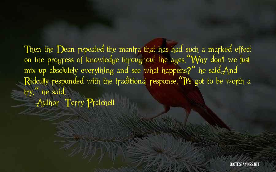 What We See Quotes By Terry Pratchett