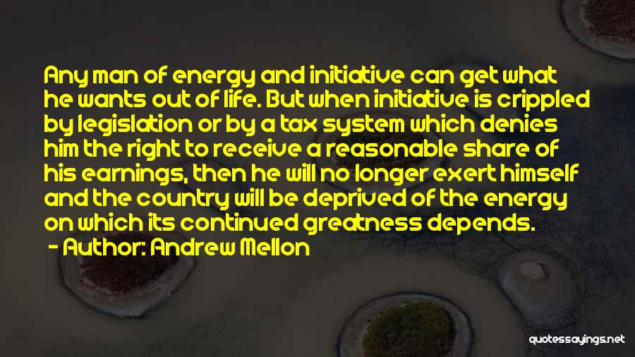 What Will Be Will Be Quotes By Andrew Mellon
