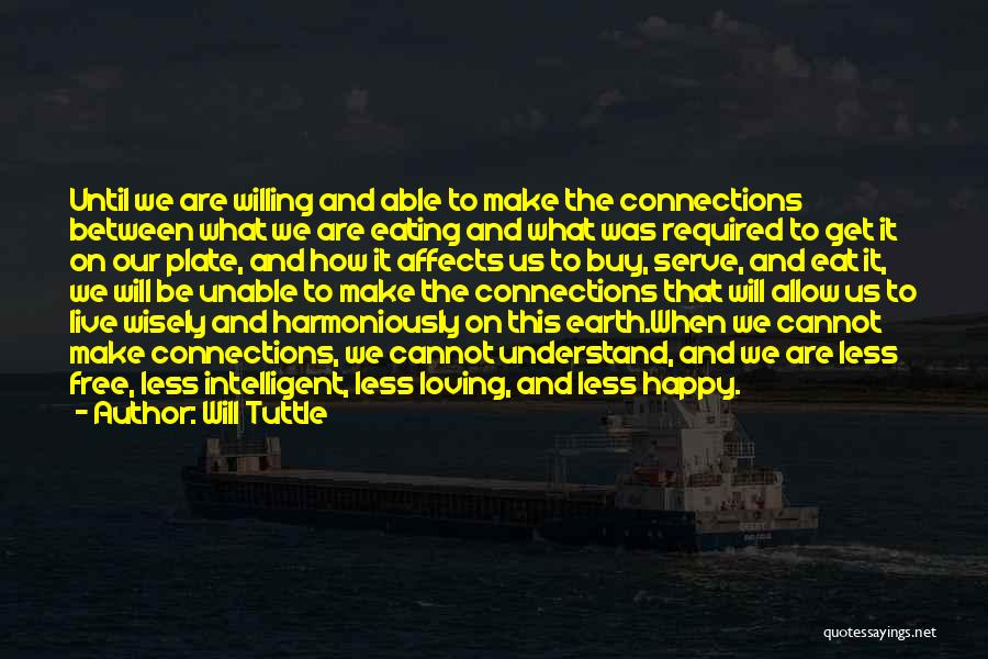 What Will Be Will Be Quotes By Will Tuttle