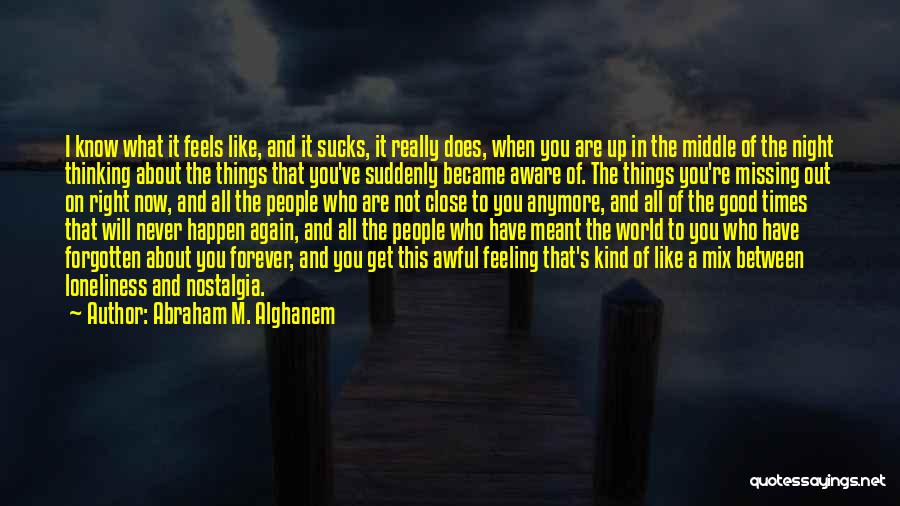 What You Are Missing Quotes By Abraham M. Alghanem