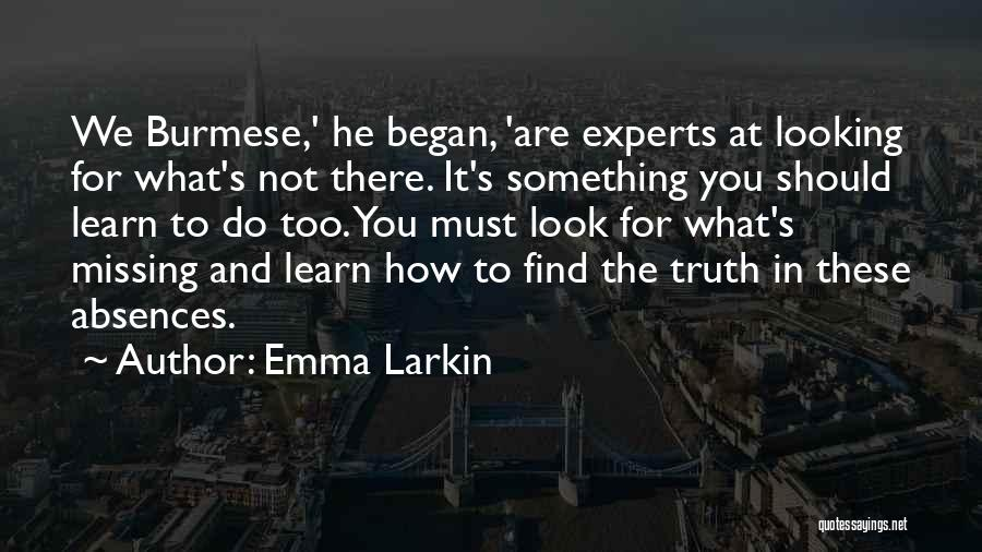 What You Are Missing Quotes By Emma Larkin