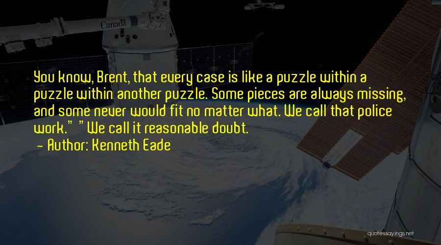 What You Are Missing Quotes By Kenneth Eade