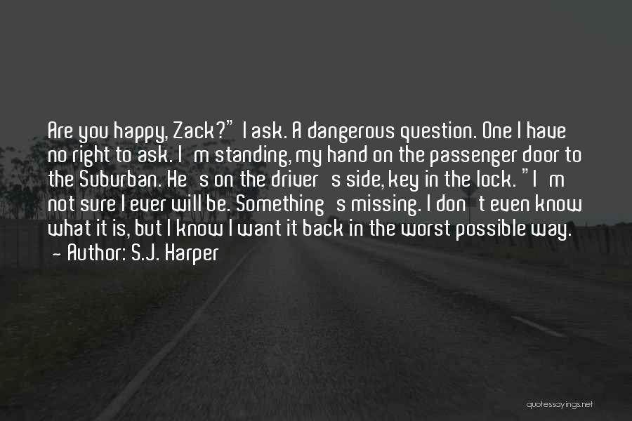 What You Are Missing Quotes By S.J. Harper