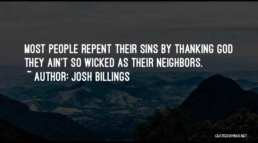 What You Are Thankful For Quotes By Josh Billings