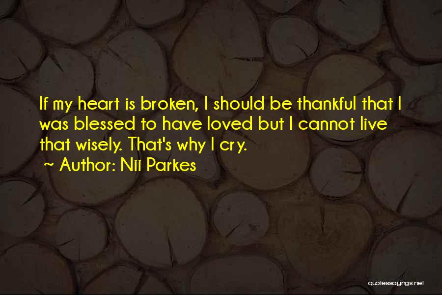 What You Are Thankful For Quotes By Nii Parkes