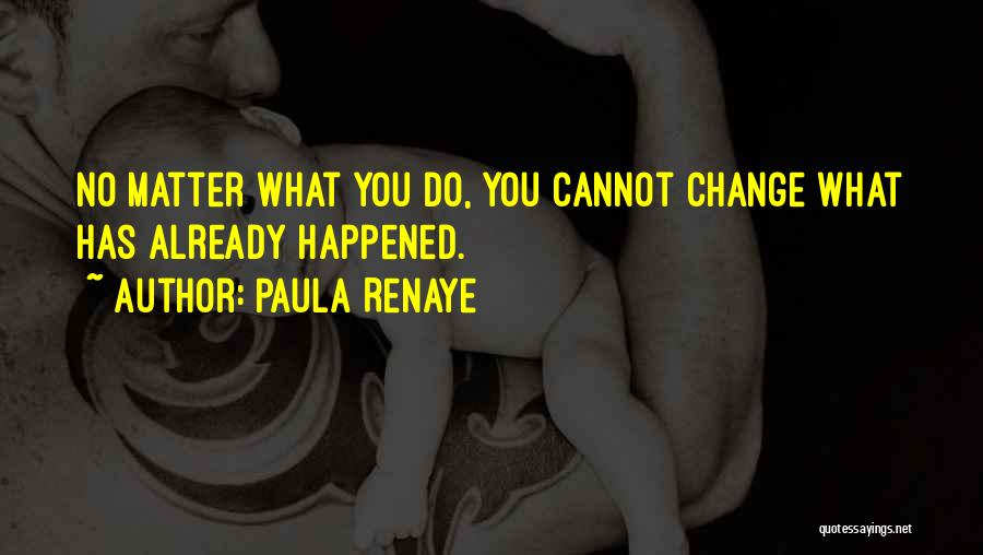 What You Cannot Change Quotes By Paula Renaye