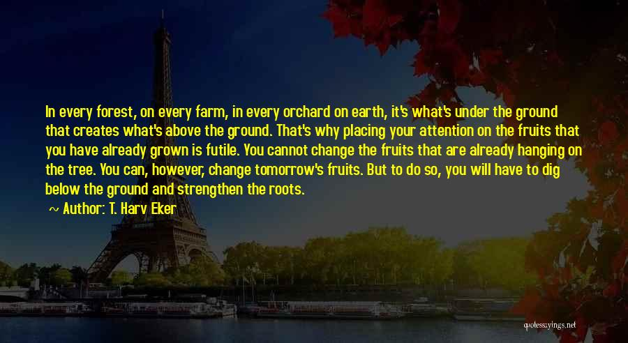 What You Cannot Change Quotes By T. Harv Eker