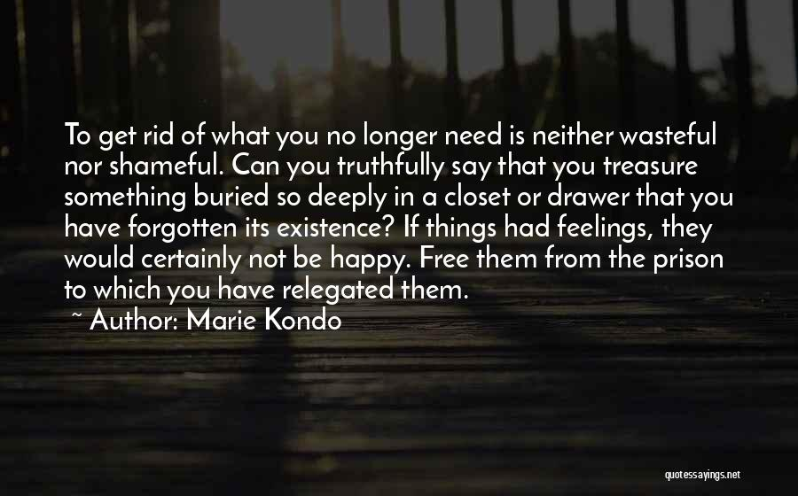 What You Need To Be Happy Quotes By Marie Kondo