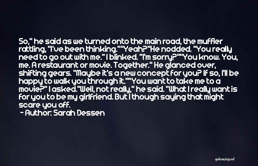 What You Need To Be Happy Quotes By Sarah Dessen